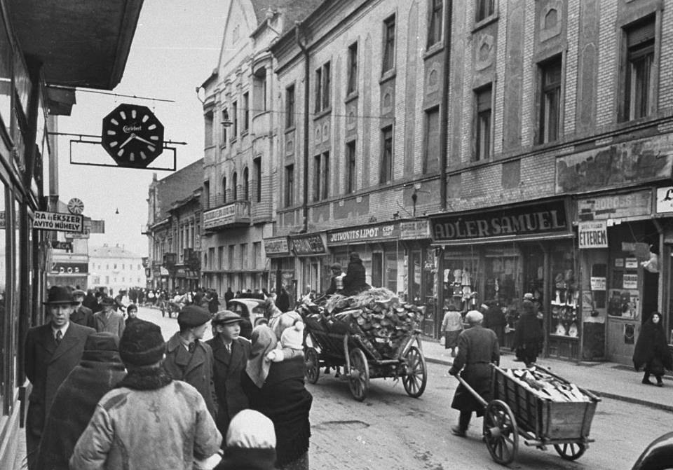 Ungvár, Korzó